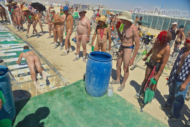 naturist 0036 Burning Man 2012, Black Rock City, NV, USA