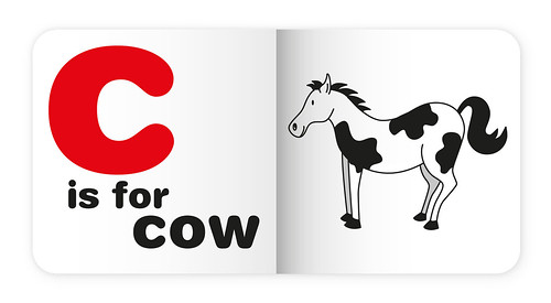 C is for cow by Simon Sharville