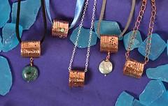 Ming Tube pendants