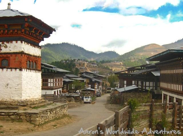 Bhutanese Town