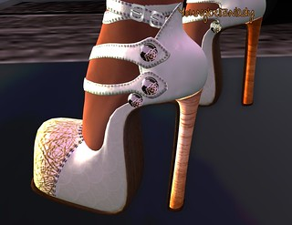 [Tara] Charlotte Green Pumps from Whore Couture Fair