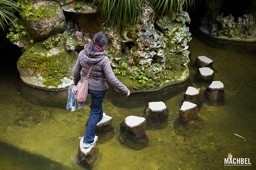 Cruzando las zamburguesas, Quinta da Regaleira