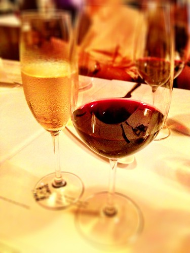 Champagne & wine at No.4 Blake Street