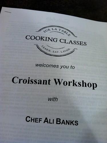 Croissant Workshop