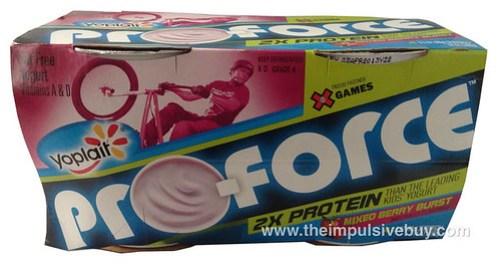 Yoplait Pro-Force Mixed Berry Burst