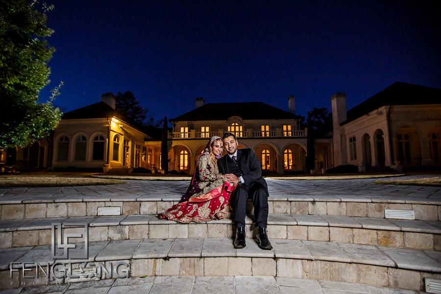 Sani & Javed's Pre-Wedding Bridal | Villa Serena | Atlanta Indian Wedding Photography