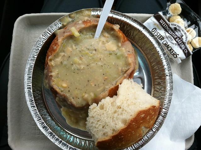 Clam chowder - Barbara's Fishtrap