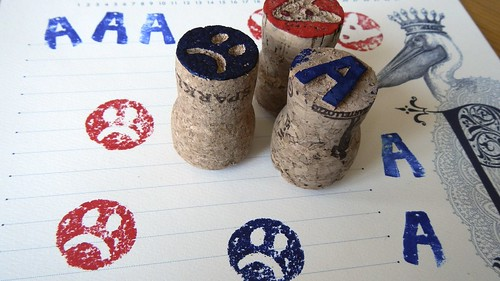 Cork Stamps 12