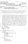DTU Question Papers 2010 – 8 Semester - End Sem - COE-412