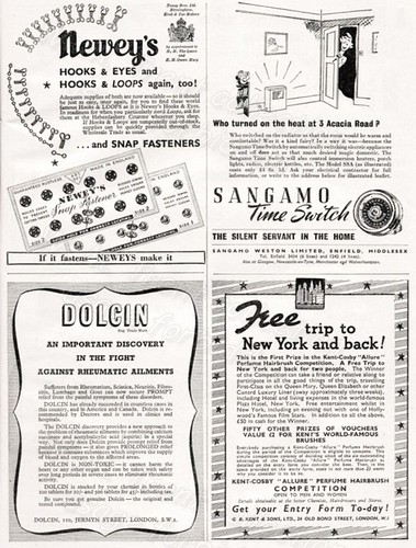 1949 - British Advertisements.