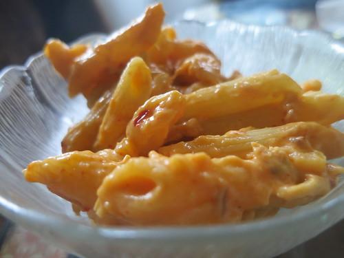 Gochujang tuna mac n cheese