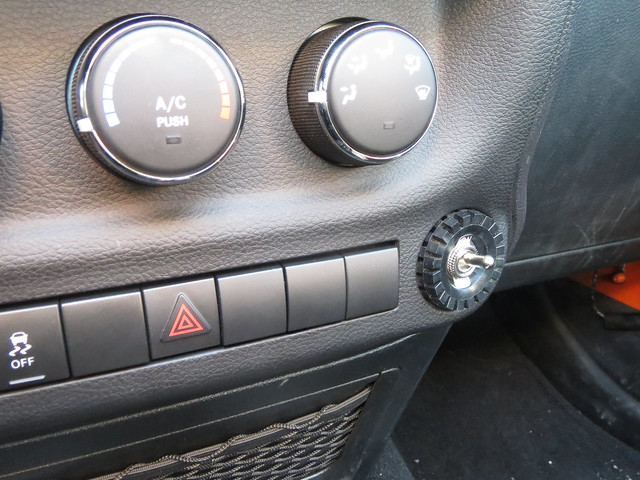 Step 22: Lego tire! 2012 Jeep Wrangler JK stability control / traction control / ESP kill switch installation