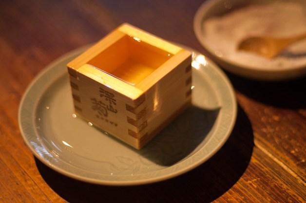 日本酒と塩 - Sake and salt