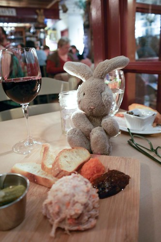 Travel Bunny & Rabbit Rillette at at Le Lapin Sauté - #LexGoFurther