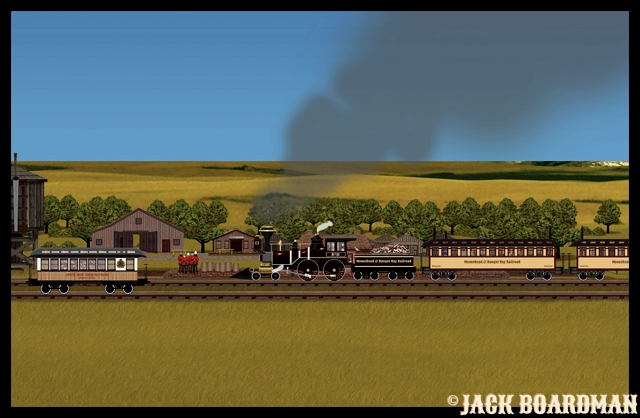 Adventure Train arrived at E Grand Forks