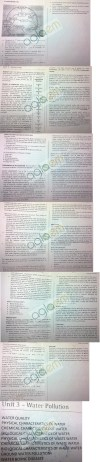 DTU: Notes - 1 Sem Environmental - Environmental Science