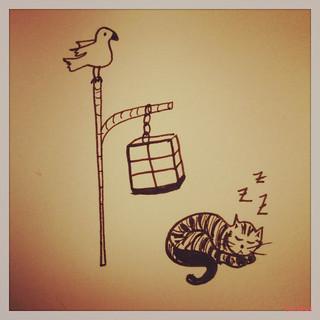 Cats&birds 3