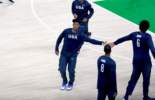 Jimmy Butler and DeAndrew Jordan #TeamUSA Basketball