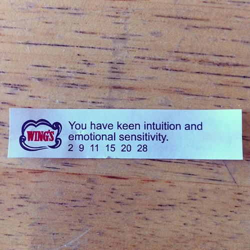 Keen intuition I can believe but emotional sensitivity, I'm not so sure.