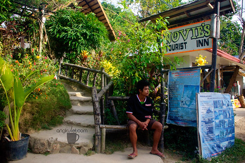 Novie's Pension, Corong-corong, El Nido, Palawan