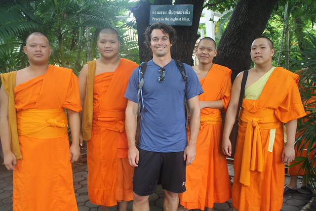 Thai Monk Chat in Chiang Mai