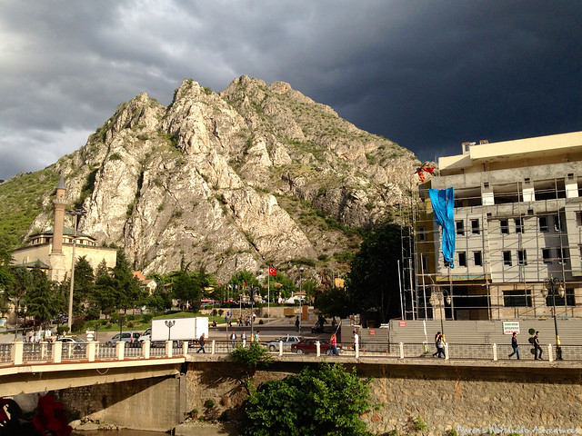 Storm Cloud Over Amasya
