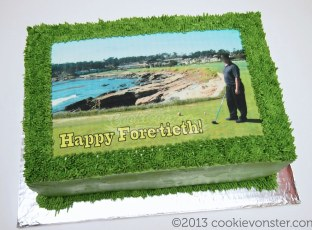 Edible Image Custom cake