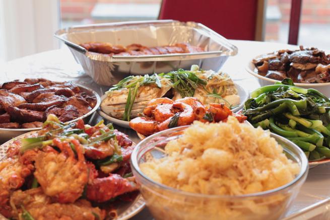 CNY DINNER 2013