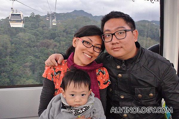 The three of us in Taiwan last year