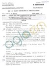 DTU Question Papers 2011 - 2 Semester - End Sem - Group A 2 Semester  Group B 1 Semester