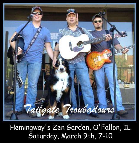 Tailgate Troubadours 3-9-13