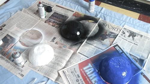 Papier Mache Bowls 23