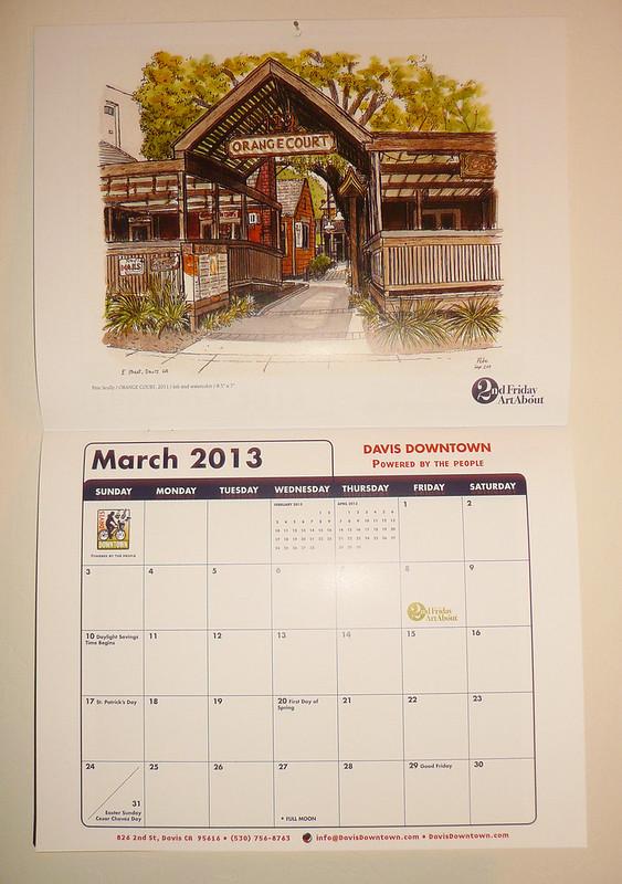 davis downtown calendar
