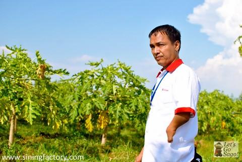 'Pukol' : 34-year-old Lorben Carpo from Barangay Carmen