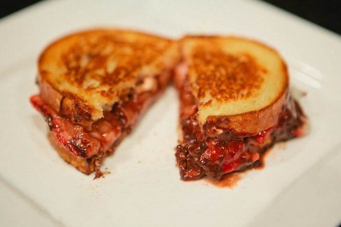 Gourmet grilled cheese sandwhich-11