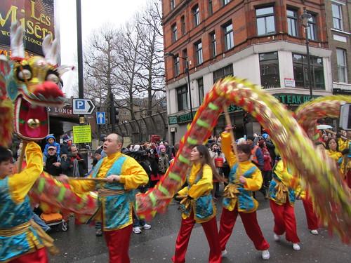 UK - London - Shaftesbury Avenue - Chinese New Year Parade