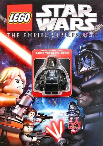 Exclusive Darth Vader with medal