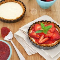 Strawberry Cheesecake Tartlets