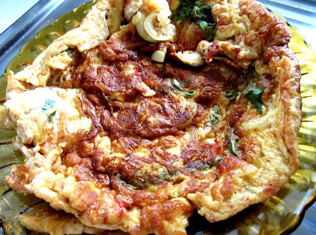 Cincaluk omelette 5