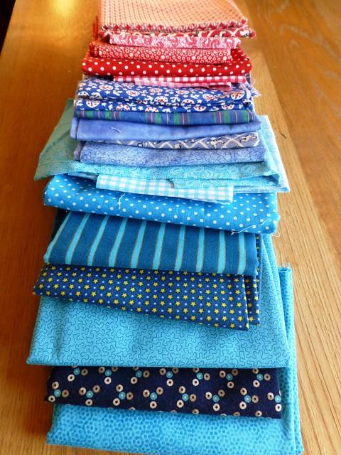 FQs for Jonah's quilt