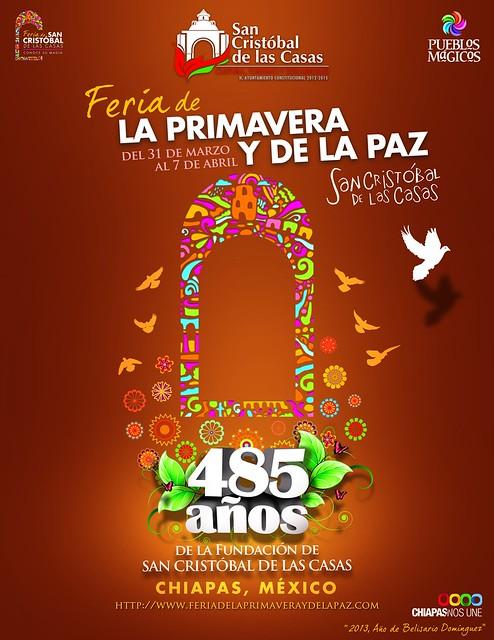 Feria de la Primavera y de la paz 2013