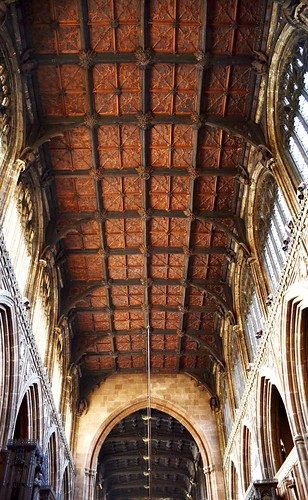 Ceiling, Manchester Cathedral by Angela Seager