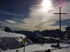 Gipfelkreuz Monte Piano