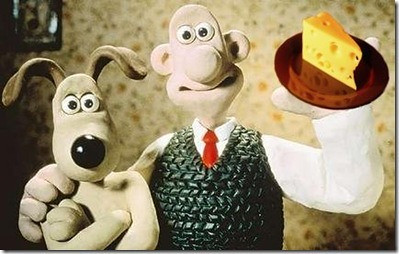 wallace and gromit and cheese