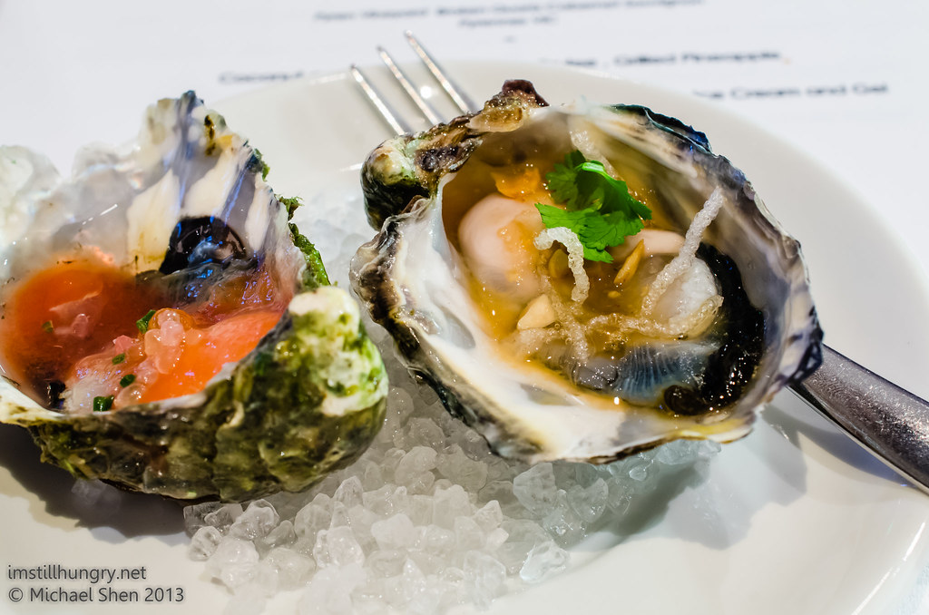 Bistro Lilly oysters