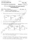 DTU Question Papers 2010 – 2 Semester - Mid Sem - IT-111
