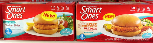 Weight Watchers Smart Ones Chicken Slider