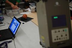 Laser scanning pottery
