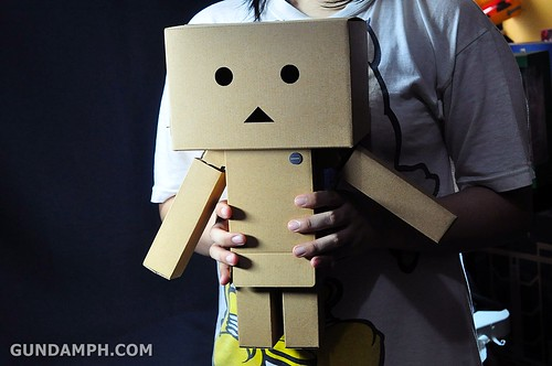 Big Scale Danboard Cardboard Assembling Kit Review (71)