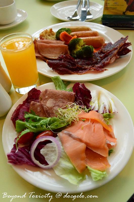 breakfast buffet, eastin hotel penang